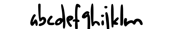 Anak Anak Font LOWERCASE