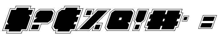 Anakefka Academy Italic Font OTHER CHARS