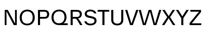 Analogue Reduced 55 Regular Font UPPERCASE
