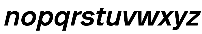 Analogue Reduced 66 Medium Oblique Font LOWERCASE