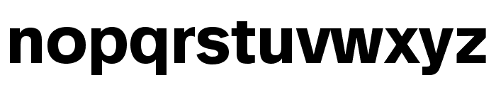 Analogue Reduced 75 Bold Font LOWERCASE