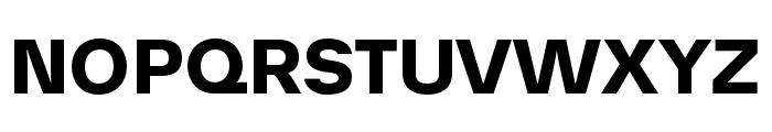 AnalogueReduced-Bold Font UPPERCASE