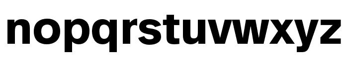 AnalogueReduced-Bold Font LOWERCASE