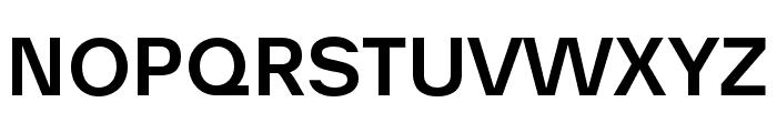 AnalogueReduced-Medium Font UPPERCASE