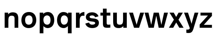 AnalogueReduced-Medium Font LOWERCASE