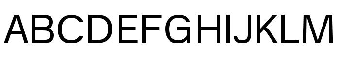 AnalogueReduced-Regular Font UPPERCASE