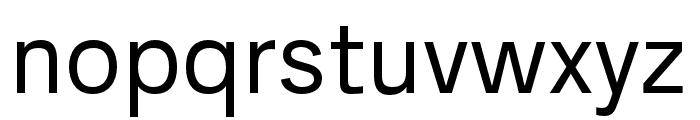 AnalogueReduced-Regular Font LOWERCASE