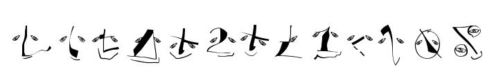 AnalphabetismBats Font LOWERCASE