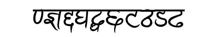 Ananda Akchyar Bold Font OTHER CHARS