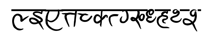 Ananda Akchyar Bold Font UPPERCASE
