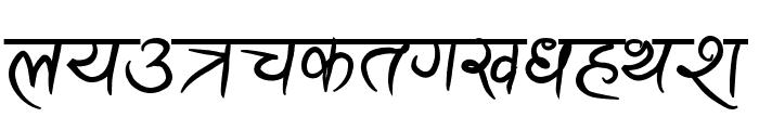 Ananda Akchyar Bold Font LOWERCASE