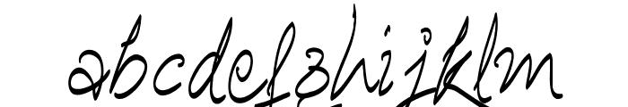 Ananda Hastakchyar Font LOWERCASE