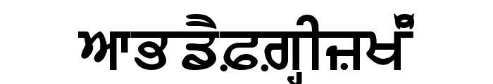 AnandpurSahib Bold Font UPPERCASE