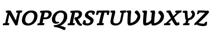 AnaphoraTrial-BoldItalic Font UPPERCASE