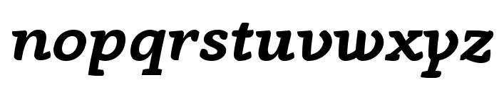 AnaphoraTrial-BoldItalic Font LOWERCASE