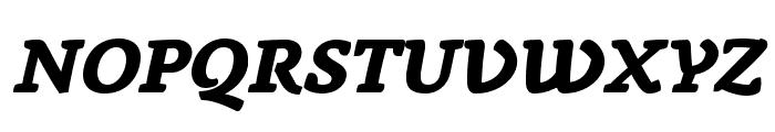 AnaphoraTrial-ExtraBoldItalic Font UPPERCASE