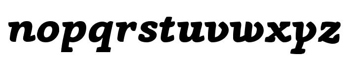 AnaphoraTrial-ExtraBoldItalic Font LOWERCASE