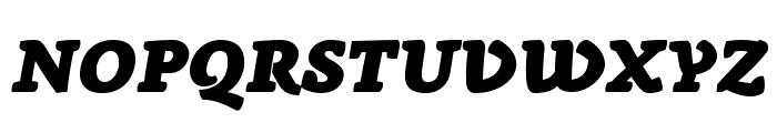 AnaphoraTrial-FatItalic Font UPPERCASE
