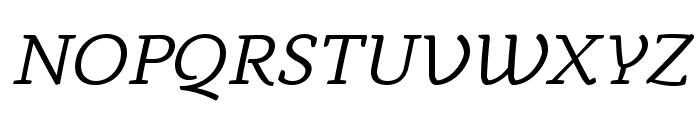 AnaphoraTrial-Italic Font UPPERCASE