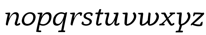 AnaphoraTrial-Italic Font LOWERCASE