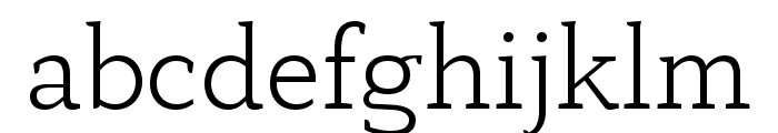 AnaphoraTrial-Light Font LOWERCASE
