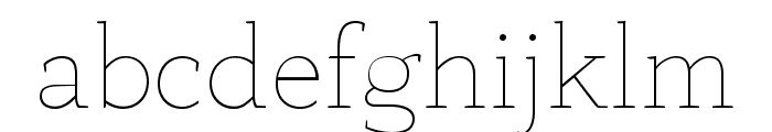 AnaphoraTrial-Thin Font LOWERCASE
