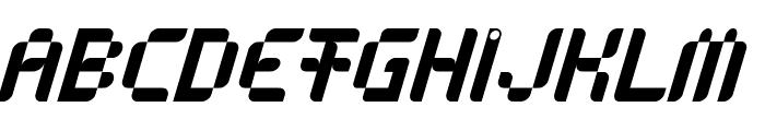 Anasthesia Italic Font UPPERCASE