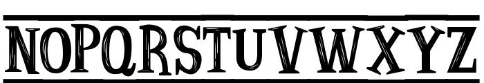 Ancient Ad Font UPPERCASE