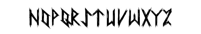 Ancient Runes Font UPPERCASE