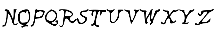 Ancient Font UPPERCASE