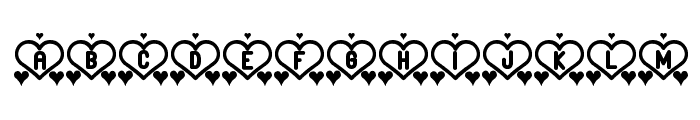 And Love st Font LOWERCASE
