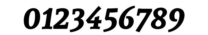 Andada Bold Italic Font OTHER CHARS