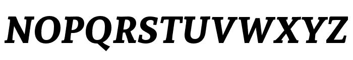 Andada Bold Italic Font UPPERCASE