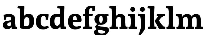 Andada Bold Font LOWERCASE