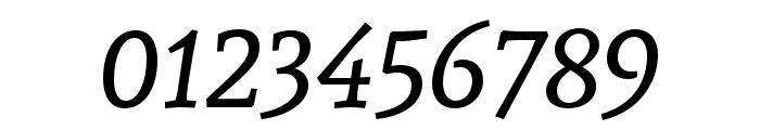 Andada Italic Font OTHER CHARS