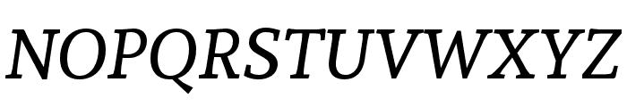 Andada Italic Font UPPERCASE