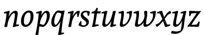 Andada Italic Font LOWERCASE