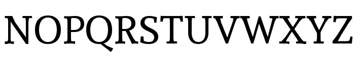 Andada-Regular Font UPPERCASE