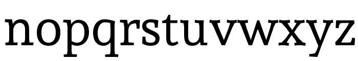 Andada-Regular Font LOWERCASE