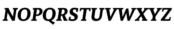 Andada SC Bold Italic Font UPPERCASE