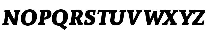 Andada SC Bold Italic Font LOWERCASE
