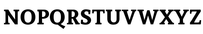 Andada SC Bold Font UPPERCASE