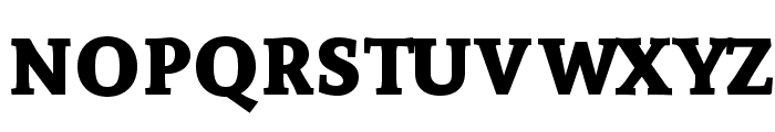 Andada SC Bold Font LOWERCASE