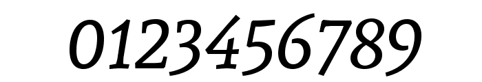 Andada SC Italic Font OTHER CHARS