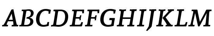 Andada SC Italic Font LOWERCASE