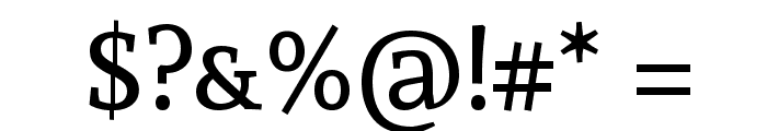 Andada SC Font OTHER CHARS