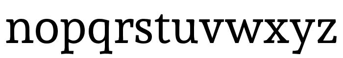 Andada Font LOWERCASE