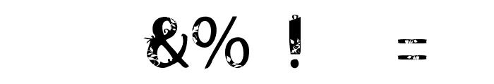 AndalasiaRegular Font OTHER CHARS