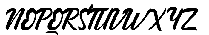 Andallan Font UPPERCASE