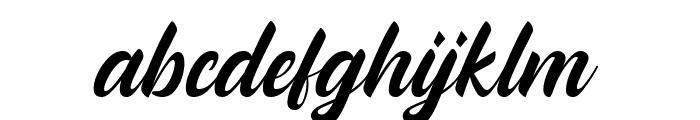 Andallan Font LOWERCASE